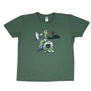 Artificial Society Space Girl Graphic T-Shirt